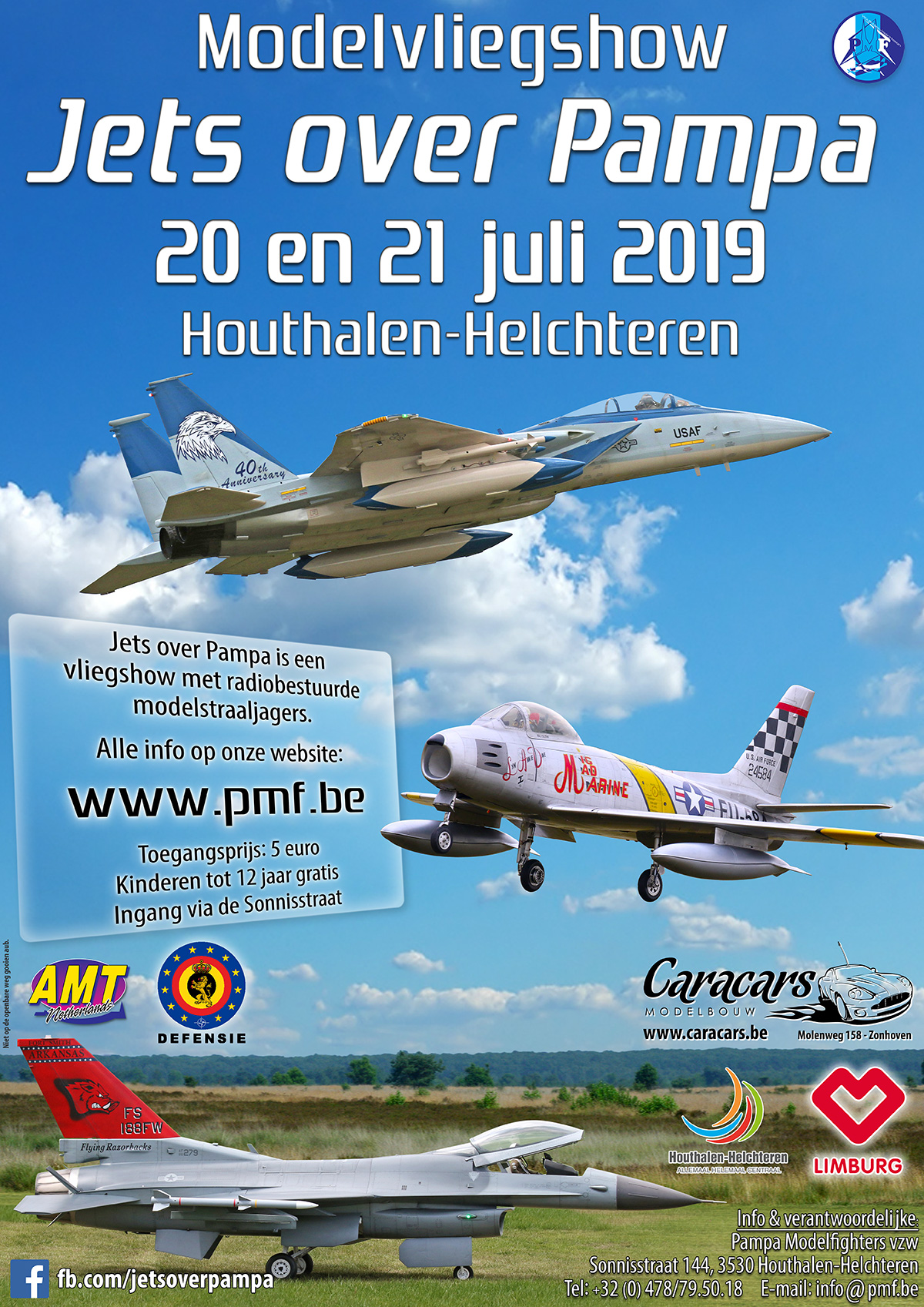 Jets over Pampa 2019 affiche